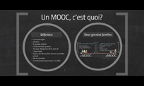 Lancer la vidéo Un MOOC, c'est quoi?